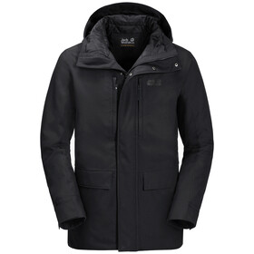 Jack Wolfskin West Coast Jas Heren, black